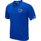 Colosseum Men's Memphis Tigers Blue Fairway Polo