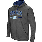 Colosseum Men's Maine Black Bears Grey Pullover Hoodie