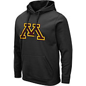 Colosseum Men's Minnesota Golden Gophers Pullover Black Hoodie