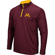 Colosseum Men's Minnesota Golden Gophers Maroon Loggerhead Quarter-Zip Shirt