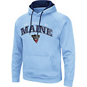 Colosseum Men's Maine Black Bears Blue Pullover Hoodie