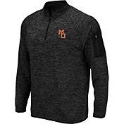 045b73a7 Product Image · Colosseum Men's Mercer Bears Quarter-Zip Black Shirt