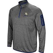Colosseum Men's Marquette Golden Eagles Grey Indus River Quarter-Zip Shirt