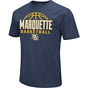 Colosseum Men's Marquette Golden Eagles Blue Dual Blend Basketball T-Shirt