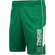 Colosseum Men's Marshall Thundering Herd Green Grizzly Shorts