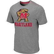 Colosseum Men's Maryland Terrapins Grey Campinas T-Shirt