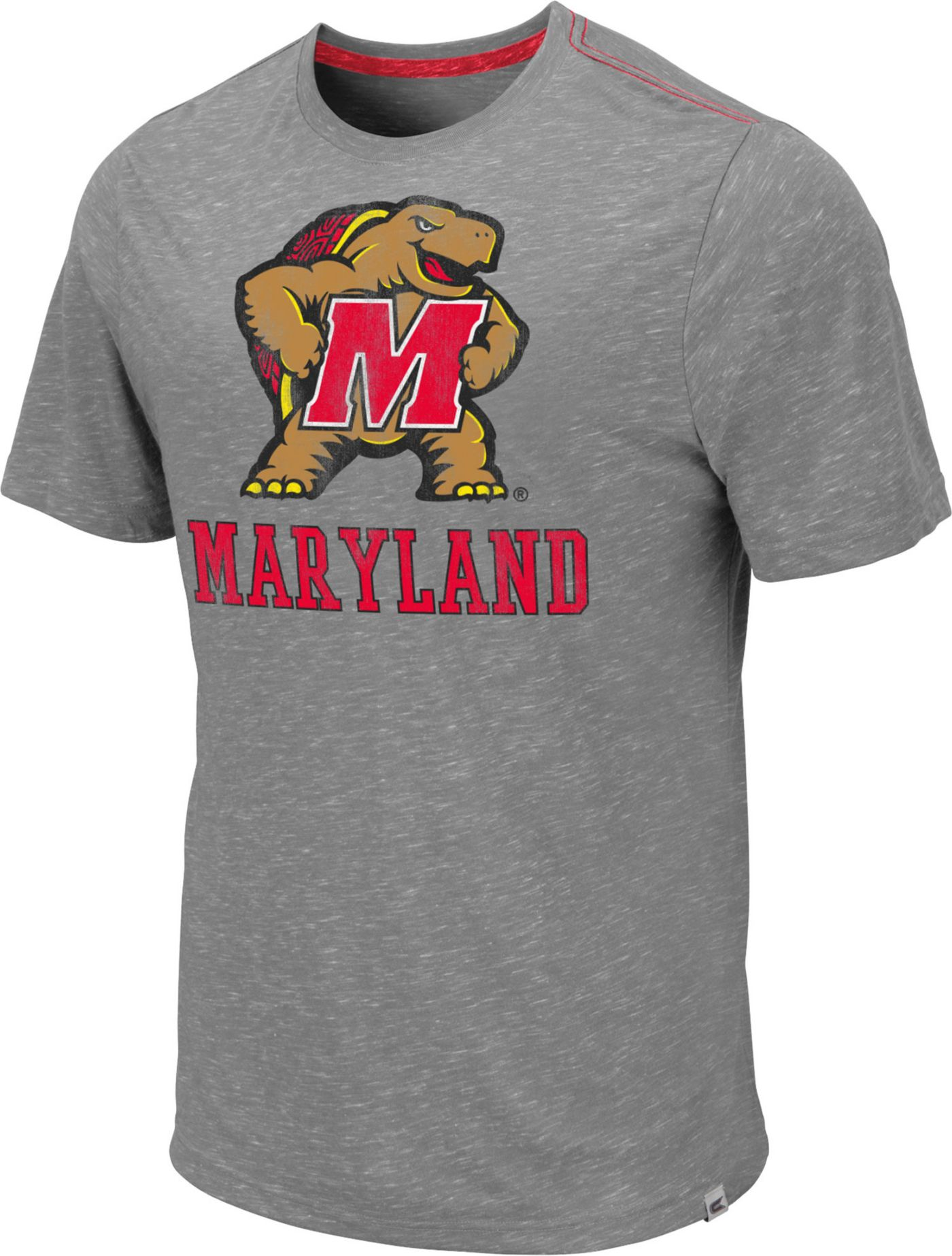 Colosseum Men's Maryland Terrapins Grey Campinas T-Shirt