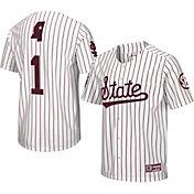 Colosseum Men's Mississippi State Bulldogs Turf 'N' Turf Replica Baseball White Jersey