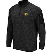 Colosseum Men's Missouri Tigers Quarter-Zip Black Shirt