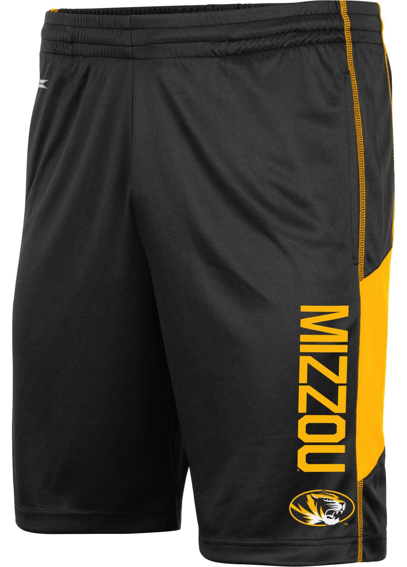 Colosseum Men's Missouri Tigers Grizzly Black Shorts