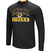 Colosseum Men's Missouri Tigers Ganges Long Sleeve Black T-Shirt
