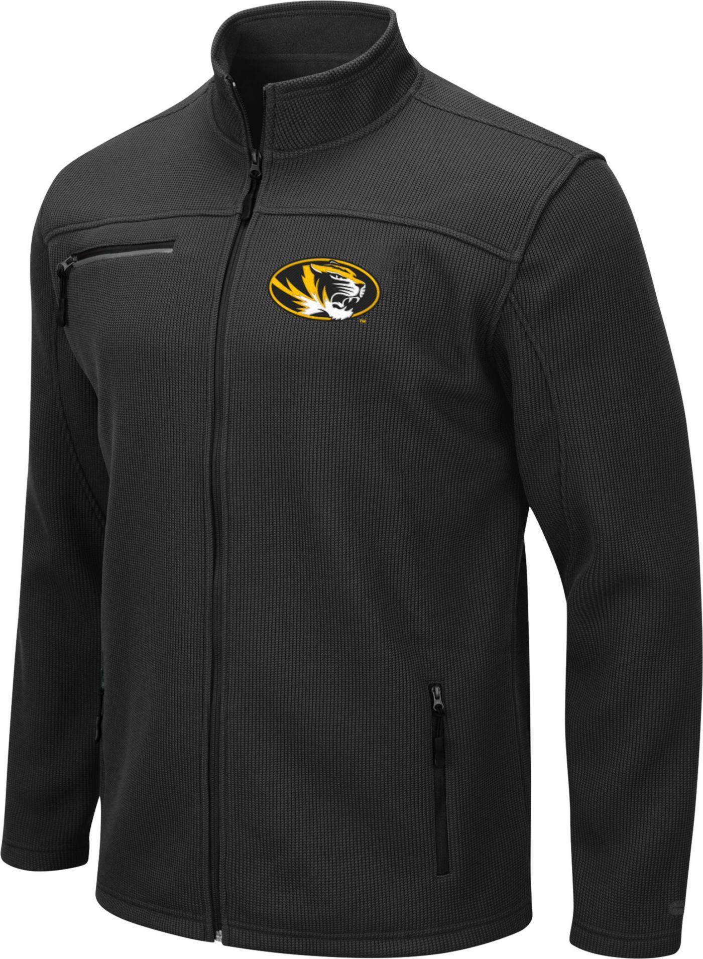 Colosseum Men's Missouri Tigers Willie Full-Zip Black Jacket