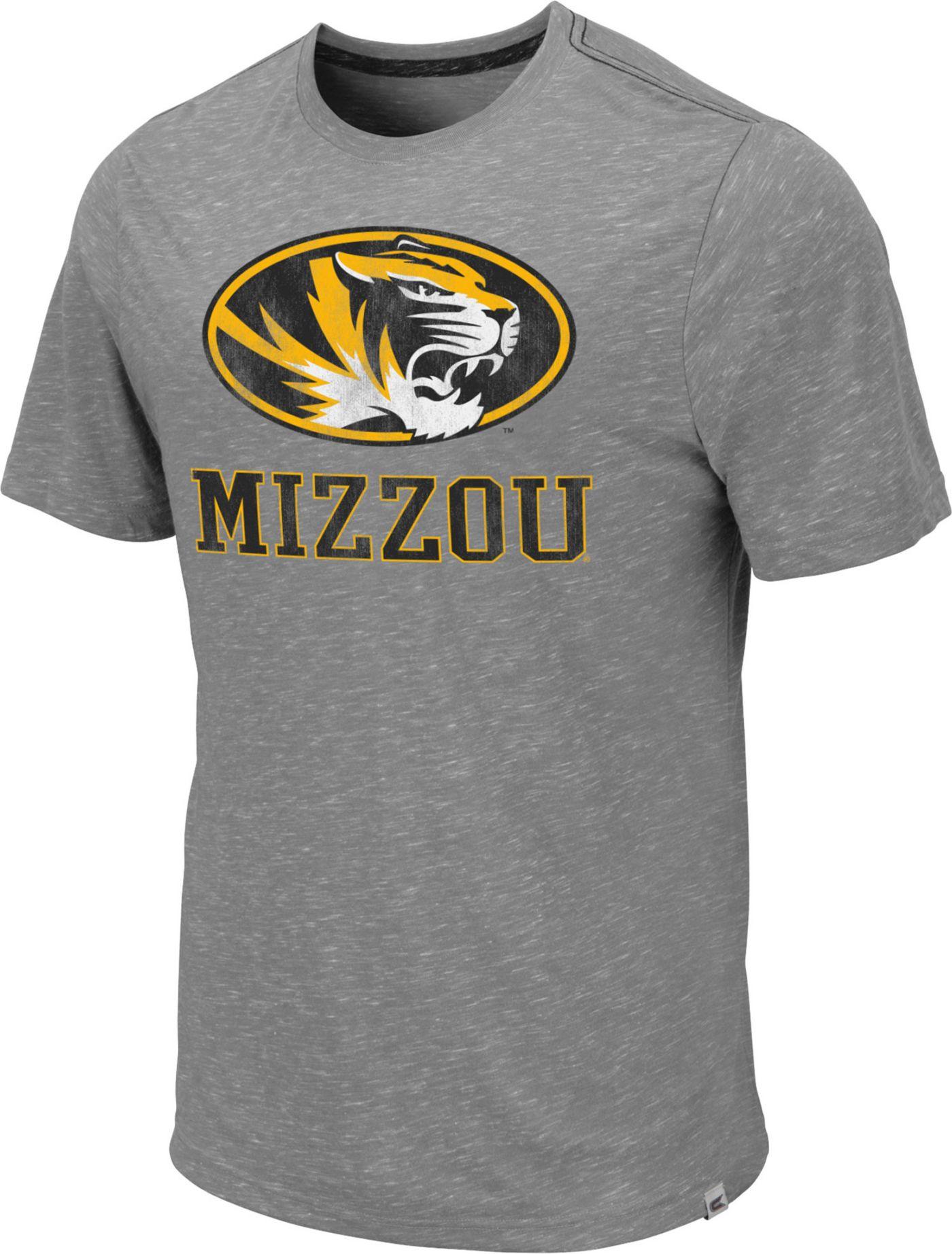 Colosseum Men's Missouri Tigers Grey Campinas T-Shirt