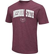 Colosseum Men's Missouri State Bears Maroon Dual Blend T-Shirt
