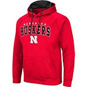 Colosseum Men's Nebraska Cornhuskers Scarlet Pullover Hoodie