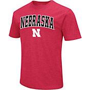 Colosseum Men's Nebraska Cornhuskers Scarlet Dual Blend T-Shirt