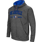 Colosseum Men's UNC Asheville Bulldogs Grey Pullover Hoodie