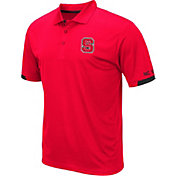 Colosseum Men's NC State Wolfpack Red Fairway Polo