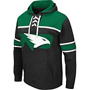 Colosseum Men's North Dakota Fighting Hawks Skinner Hockey Pullover Black Hoodie
