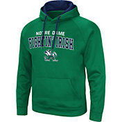Colosseum Men's Notre Dame Fighting Irish Green Pullover Hoodie