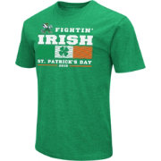 Colosseum Men's Notre Dame Fighting Irish Green 'St. Patrick's Day' Dual Blend T-Shirt