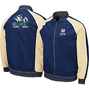 Colosseum Men's Notre Dame Fighting Irish Navy Kent Bomber Full-Zip Jacket