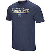 Colosseum Men's Notre Dame Fighting Irish Navy Nile T-Shirt