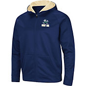 Colosseum Men's Notre Dame Fighting Irish Navy Full-Zip Hoodie