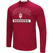 Colosseum Men's Indiana Hoosiers Crimson Ganges Long Sleeve T-Shirt