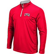 Colosseum Men's UNLV Rebels Scarlet Loggerhead Quarter-Zip Shirt