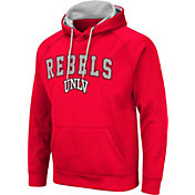 Colosseum Men's UNLV Rebels Scarlet Pullover Hoodie