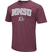 Colosseum Men's New Mexico State Aggies Maroon Dual Blend T-Shirt