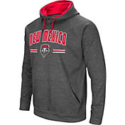 Colosseum Men's New Mexico Lobos Grey Pullover Hoodie
