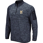 Colosseum Men's Navy Midshipmen Navy Quarter-Zip Shirt