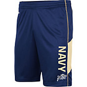 Colosseum Men's Navy Midshipmen Navy Grizzly Shorts