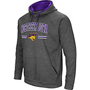 Colosseum Men's Northern Iowa Panthers  Grey Pullover Hoodie