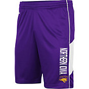 Colosseum Men's Northern Iowa Panthers  Purple Grizzly Shorts
