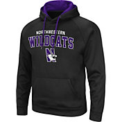 Colosseum Men's Northwestern Wildcats Black Pullover Hoodie