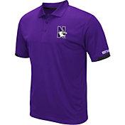 Colosseum Men's Northwestern Wildcats Purple Fairway Polo