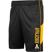 Colosseum Men's Appalachian State Mountaineers Grizzly Black Shorts