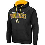 Colosseum Men's Appalachian State Mountaineers Pullover Black Hoodie