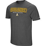 Colosseum Men's Appalachian State Mountaineers Grey Bluefin T-Shirt