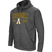 Colosseum Men's Appalachian State Mountaineers Grey Pullover Hoodie