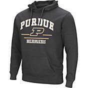 Colosseum Men's Purdue Boilermakers Campus Pullover Black Hoodie