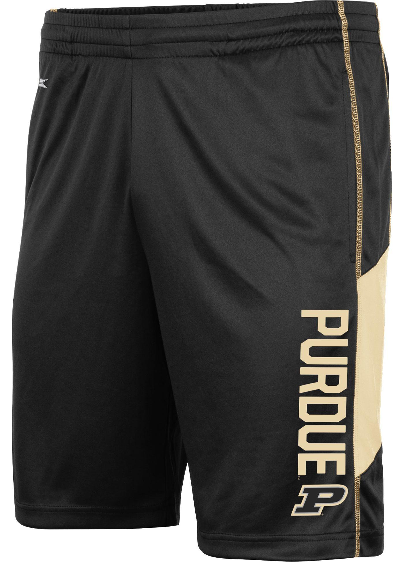 Colosseum Men's Purdue Boilermakers Grizzly Black Shorts