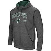 Colosseum Men's Portland State Vikings Grey Pullover Hoodie