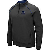 Colosseum Men's Penn State Nittany Lions Grey VF Staghorn Quarter-Zip Shirt