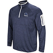 Colosseum Men's Penn State Nittany Lions Blue Indus River Quarter-Zip Shirt