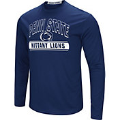 Colosseum Men's Penn State Nittany Lions Blue Ganges Long Sleeve T-Shirt