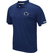 Colosseum Men's Penn State Nittany Lions Blue Fairway Polo